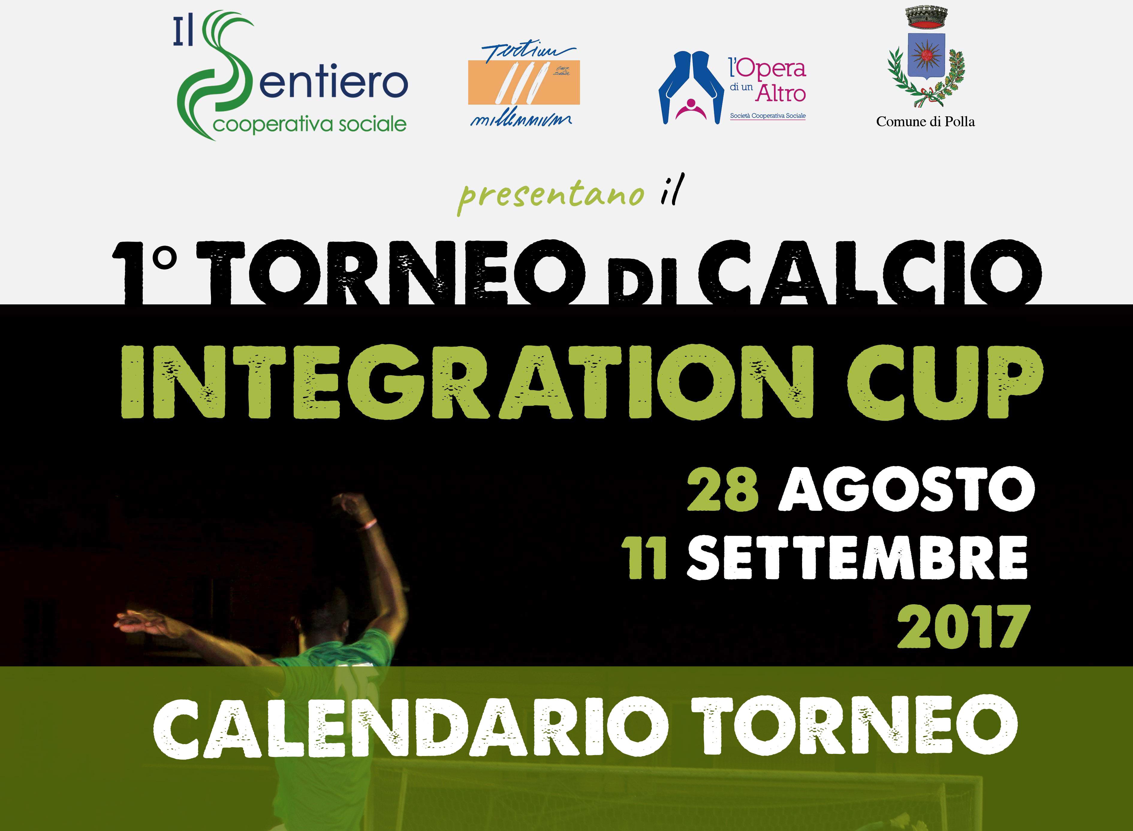 Al via il torneo Integration Cup