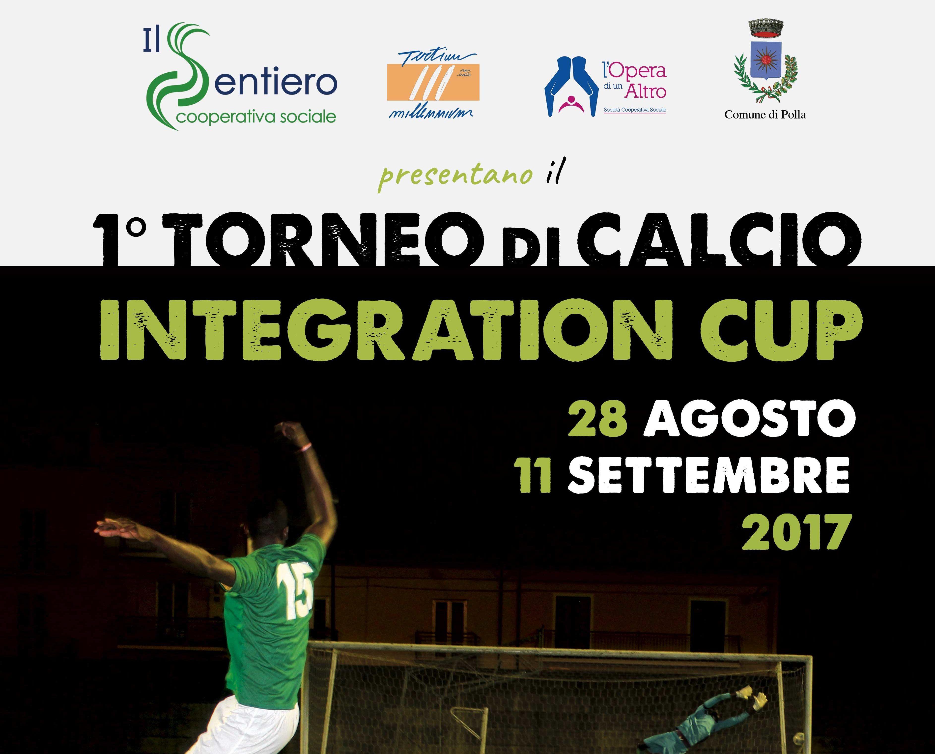 Fischio d'inizio per il Torneo Integration Cup