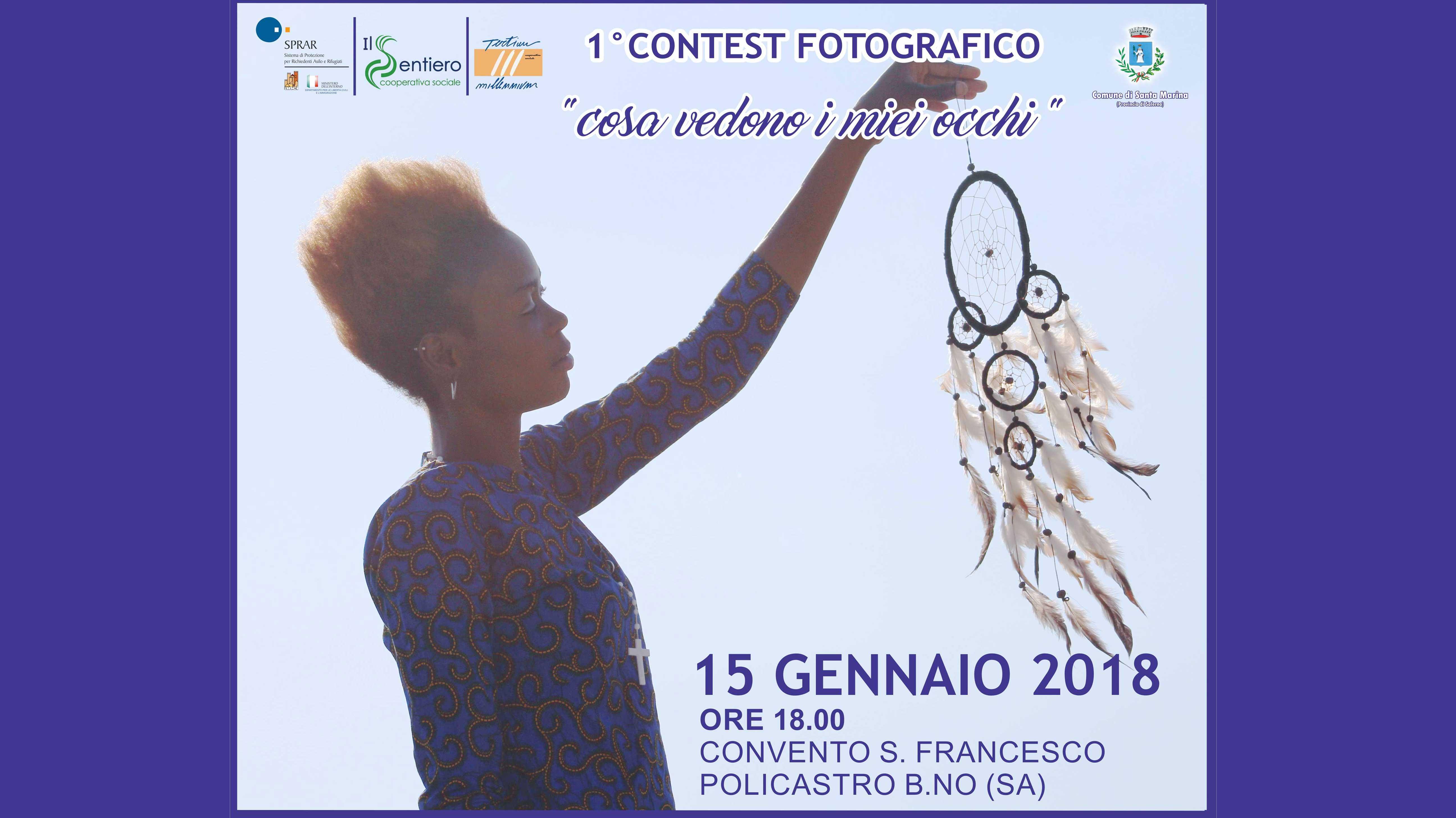 """Comunicato Stampa Contest Fotografico  """"Cosa vedono i miei occhi"""""""