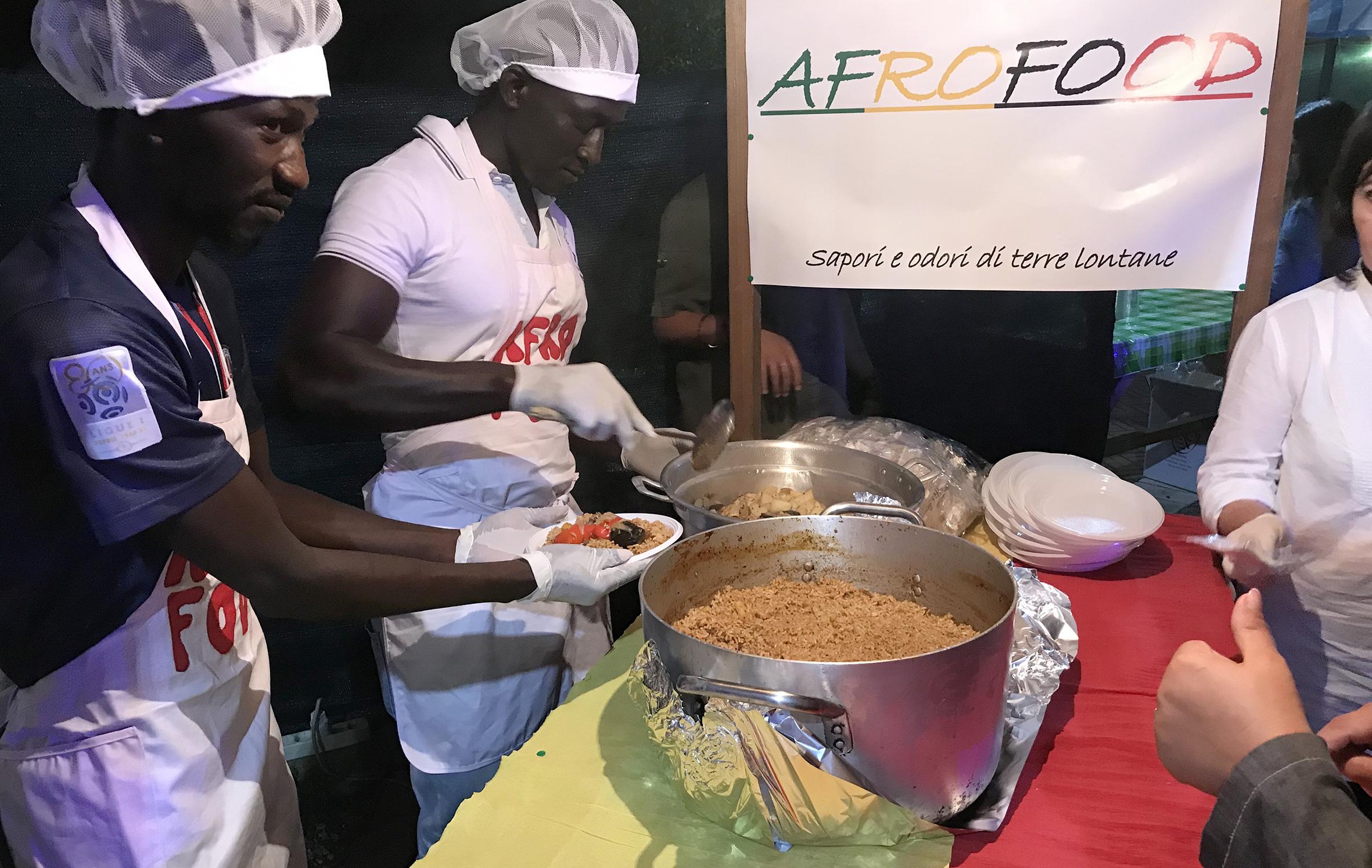 AFROFOOD, colori e sapori di terre lontane: il cibo come linguaggio di integrazione tra i Popoli