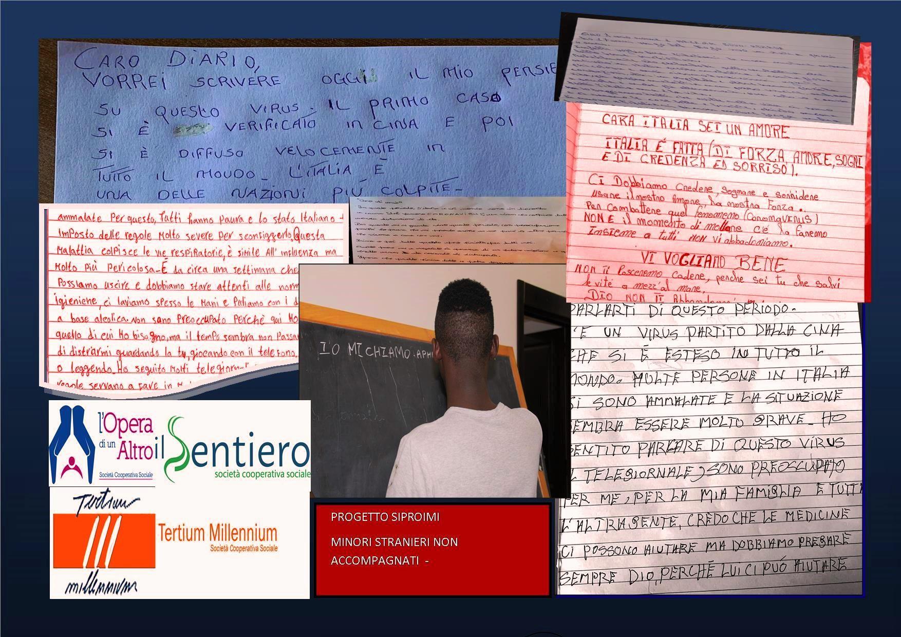 Lettere all'Italia: i pensieri dei giovani migranti