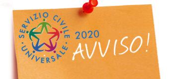 Bando Servizio Civile 2020: Informazioni vaccinazioni anti Covid 19 agli aspiranti volontari