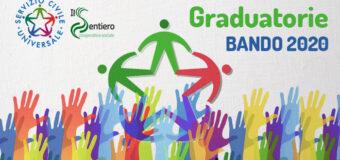 Bando 2020: Ecco le graduatorie dei progetti del Servizio Civile