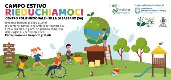 """Campo Estivo """"Rieduchiamoci"""" per bambini dai 4 agli 11 anni: Proroga Scadenza Iscrizioni"""